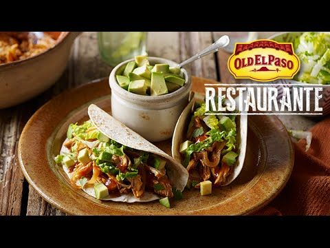 Chicken Tinga Soft Taco Recipe | Cook Like the Locals | Old El Paso