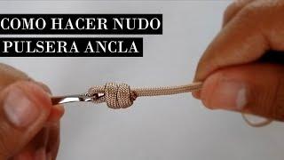 e0c7fb24b51c Como Hacer Nudo Pulsera Ancla   DIY How to make anchor bracelet knot  ☆MUZHKI☆