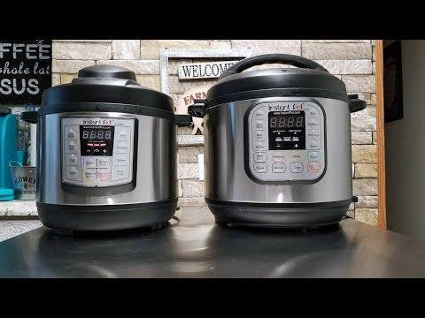 Instant Pot 3 qt Mini  VS.  6 qt Instant Pot