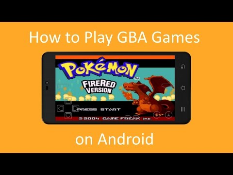 How to play Gba Games on Android (Pokemon etc)