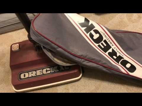 Vid Request : Oreck XL Outer Bag Removal