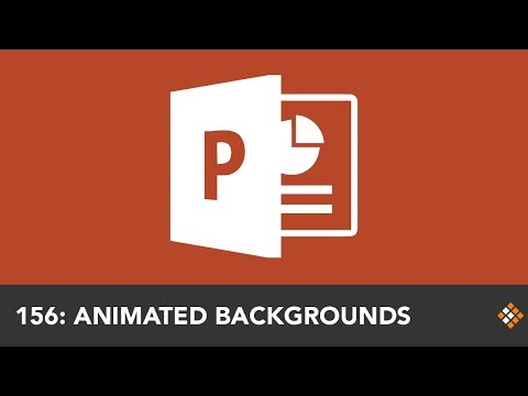Creating Animated PowerPoint Backgrounds with Morph