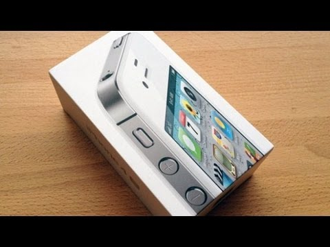 Apple iPhone 4S 32GB White [Unboxing]