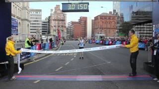 Liverpool Marathon 2012 Womens Finish