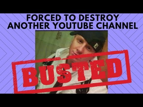 Forced To Destroy Another Youtube Channel For Being A Terrible Liar