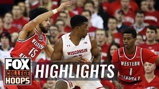 Wisconsin vs Western Kentucky | Highlights | FOX COLLEGE HOOPS