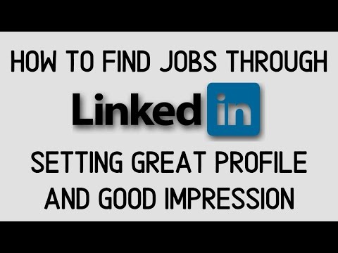 How to Use LinkedIn to get a job | profile tips and tricks part 2