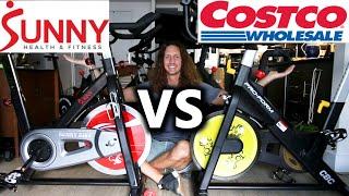 ProForm Bike vs Sunny Bike - ProForm Tour de France CBC compared to Sunny SF-B1002 review
