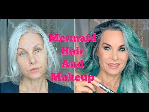 Mermaid Hair (And Makeup)