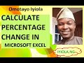 Excel tutorials: How to calculate percentage increase and decrease in excel