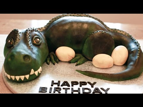 Dinosaur cake recipe | How to Make dinosaur cake recipe | Dinosaur Birthday Cake