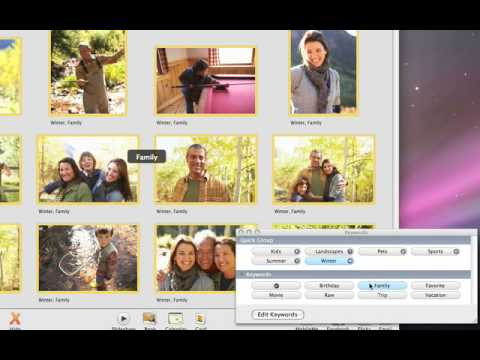 iPhoto09: A05 Add Keywords, Ratings, or Flags to Your Photos CC