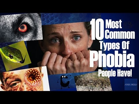 10 Most Common Types Of Phobia People Have!