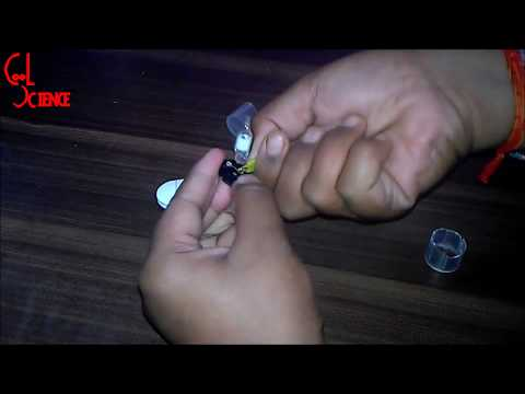How to make fire alarm only with fluorescent starter without transistor in too easy steps