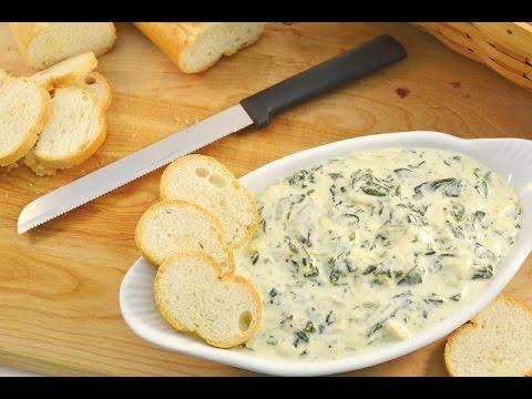 Spinach & Artichoke Dip - Slow Cooker Recipe | RadaCutlery.com