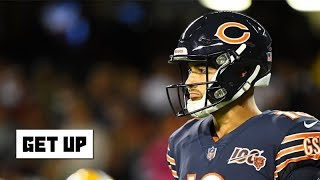 Mitchell Trubisky looked like a rookie in Packers vs. Bears - Jonathan Vilma | Get Up