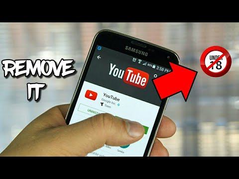 How to remove age restricted video 18 video from YouTube in hindi