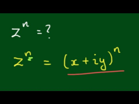 Finding Powers of Complex Numbers using DeMoivre's Theorem