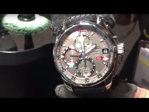 Polishing a Badly Scratched Chopard Watch