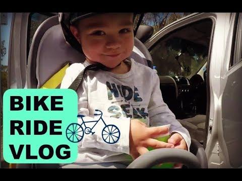 Bike riding at Dight Falls Reserve