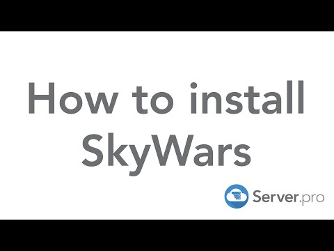 How to install and setup SkyWars on your minecraft server