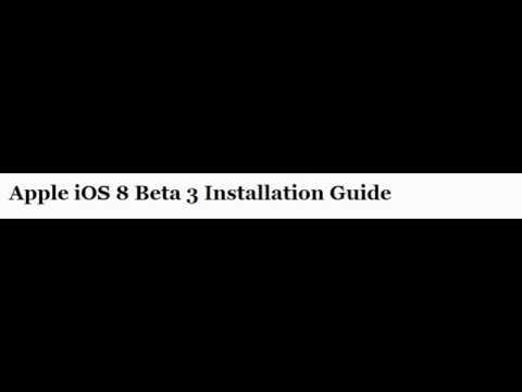 How to Download iOS 8 Beta 3
