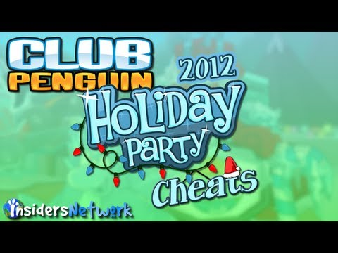 Club Penguin: Holiday Party 2012 Walkthrough