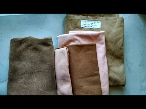 Tips on Cloth doll making fabrics