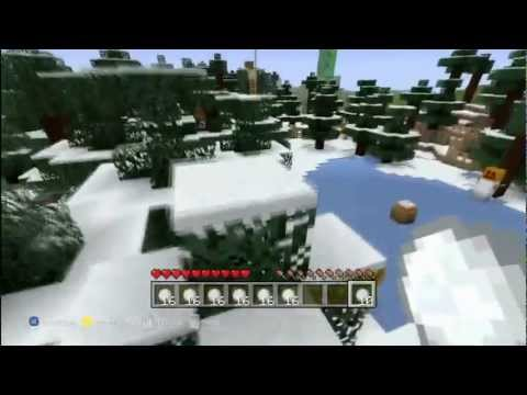 Things to do in Minecraft - Snowball Fight