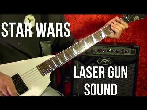 How to Make Your Guitar Sound Like a STAR WARS LASER GUN