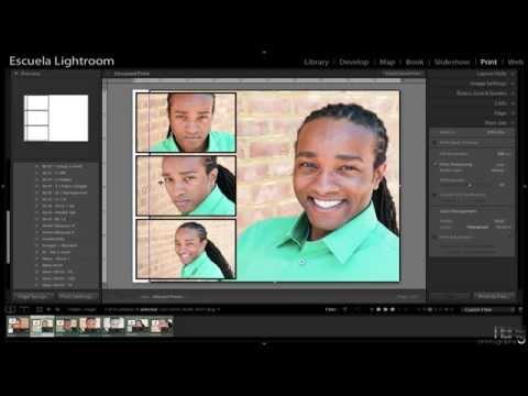 Lightroom 5 - Cómo Crear Collages y Guardarlos Para Futuros Proyectos (Tutorial)