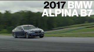 BMW Alpina B7 Hot Lap at VIR | Lightning Lap 2017 | Car and Driver