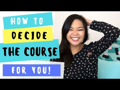 Finding the right university/college course | For high school students! | Career talk #5