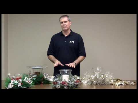 Premade Candle Rings and Centerpieces