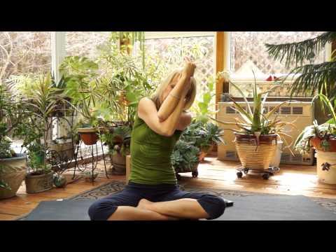 Yoga to help a curved spine