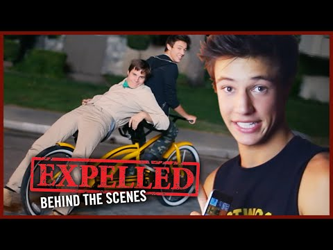 Cameron Dallas and Marcus Johns get Sent to Detention on EXPELLED Set!   Behind the Scenes