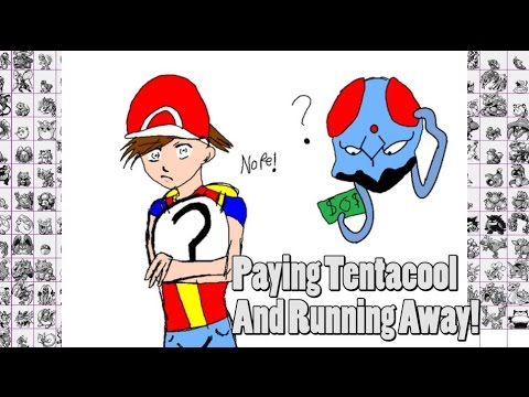 Paying A Tentacool 8 Dollars In Pokemon Fire Red/Leaf Green