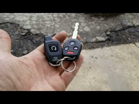 Subaru remote start system will not start. How to enable or to disable service mode.