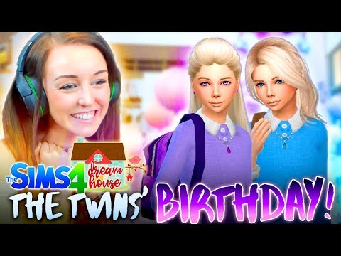 👭THE TWINS AGE UP... And they're IDENTICAL! 😍(The Sims 4 #78!🏡)