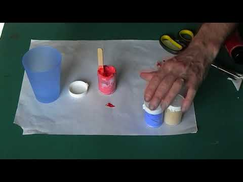 How to make your own outliner for Glass Painting.