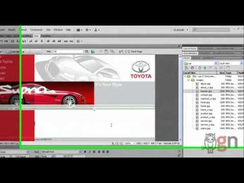 การสร้างและการใช้ template(dwt)ในdreamweaver