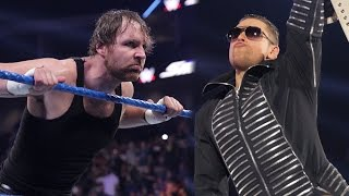 Amazing slow motion footage of Dean Ambrose vs. The Miz: SmackDown LIVE Exclusive, Jan. 10, 2017