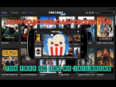 How to download popcorn time on iOS for free no jailbreak !!!