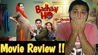 Badhaai Ho | Full Movie Review | Ayushmaan Khurana | Badhaai Ho Honest Review |