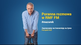 Paweł Kukiz gościem Porannej rozmowy w RMF FM