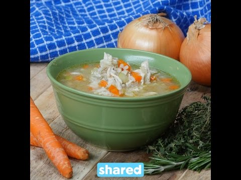 Slow Cooker Chicken & Wild Rice Soup