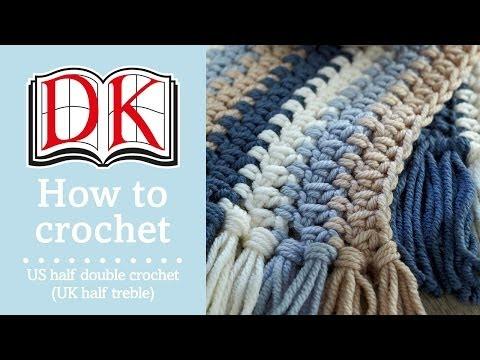 How to Half Double Crochet (UK Half Treble)
