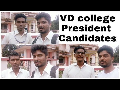 President candidates of VD college