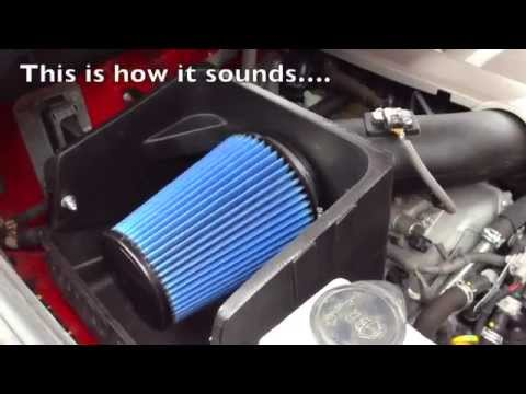 SOUND OF VOLANT COLD AIR INTAKE TO MY TOYOTA TUNDRA