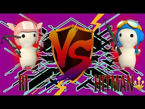 HITMAN VS RI - Escort Map [MilkChoco Clan Battle]